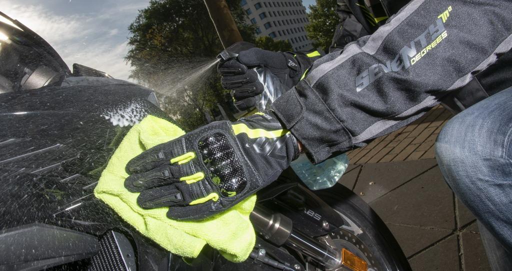 Guantes motorista verano - Tu mono para moto