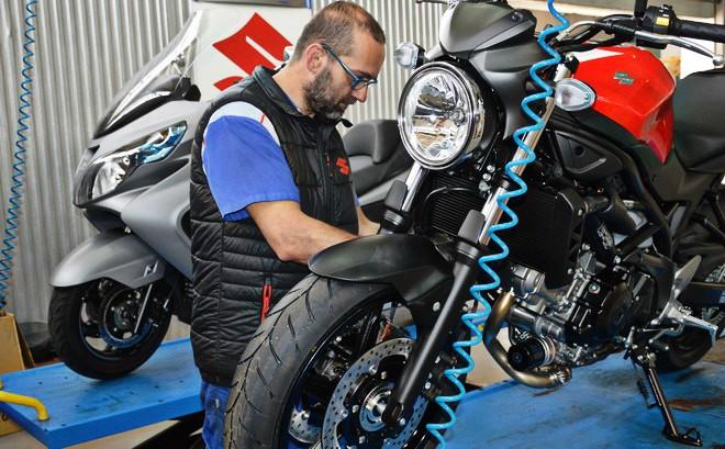 Servicio oficial suzuki motos