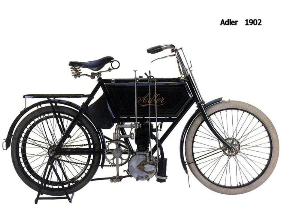 Historia y evolución de la motocileta 1902