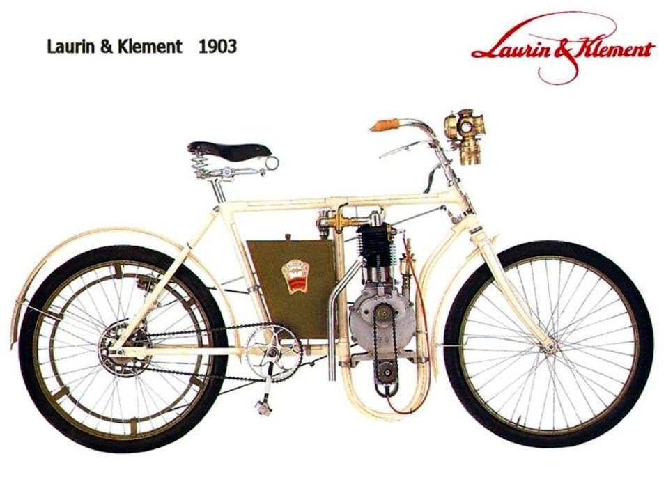 Historia y evolución de la motocileta 1903