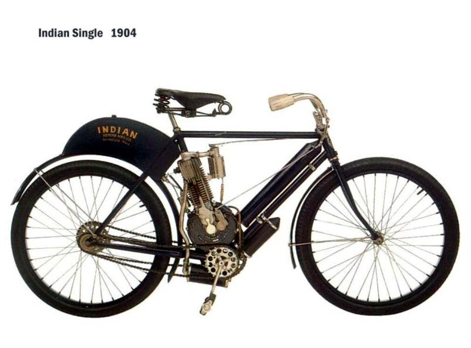 Historia y evolución de la motocileta 1904
