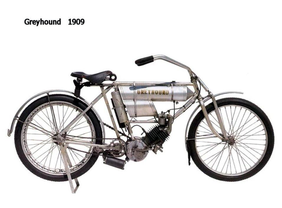 Historia y evolución de la motocileta 1909