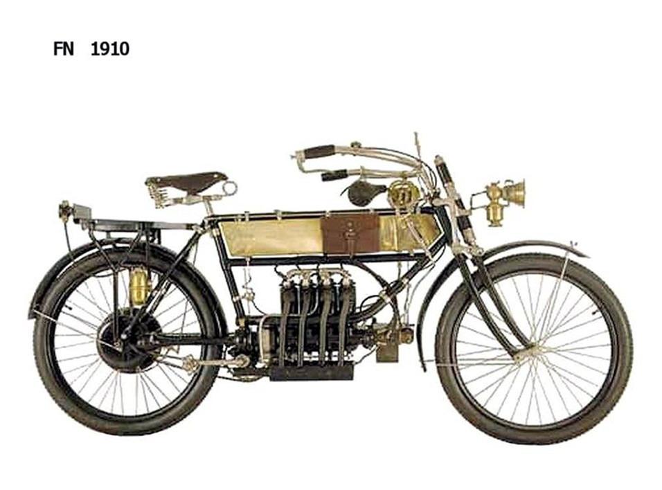 Historia y evolución de la motocileta 1910