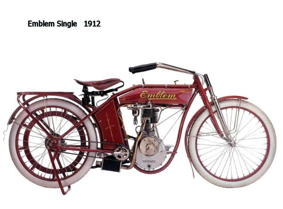 Historia y evolución de la motocileta 1912