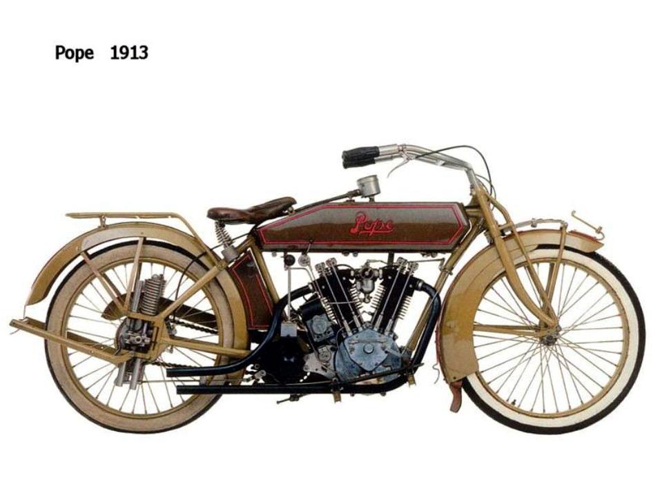 Historia y evolución de la motocileta 1913