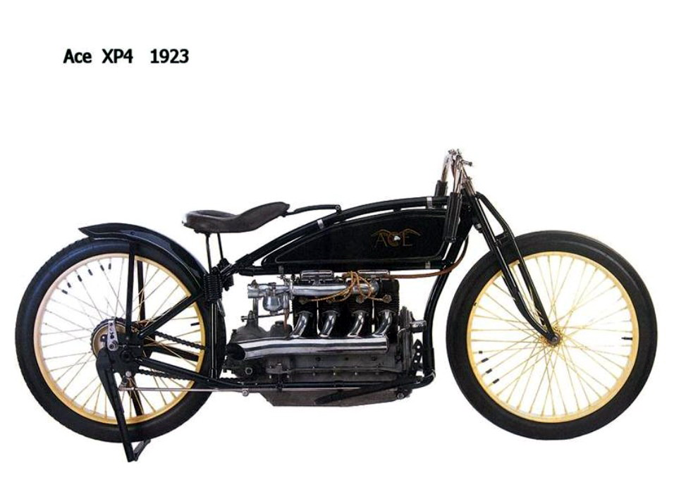 Historia y evolución de la motocileta 1923-2