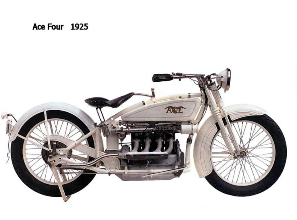 Historia y evolución de la motocileta 1925-2