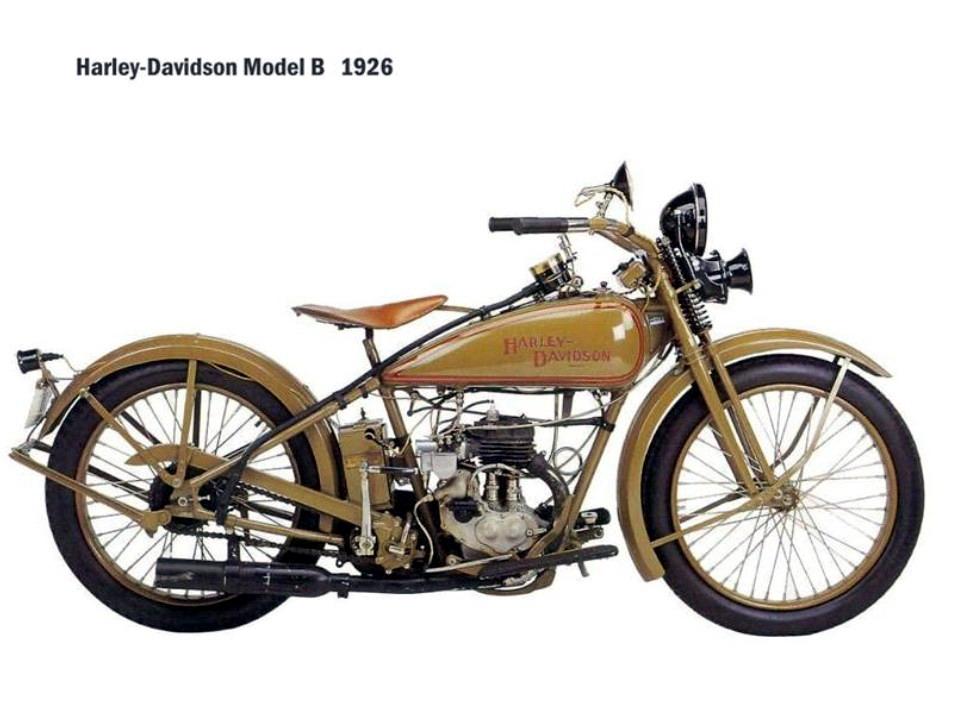 Historia y evolución de la motocileta 1926-2
