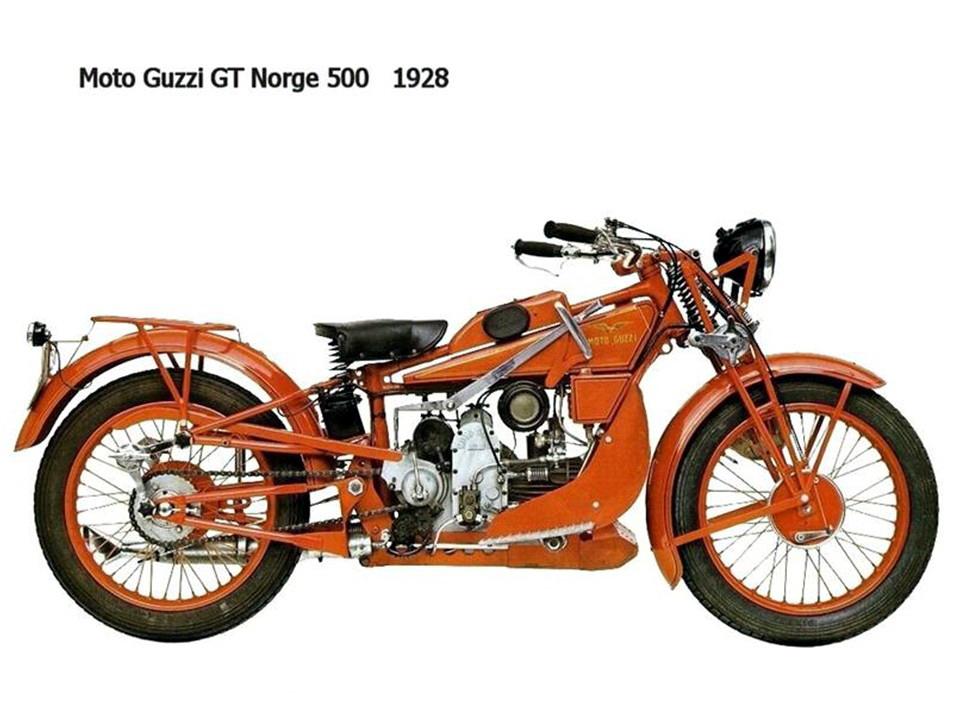 Historia y evolución de la motocileta 1928