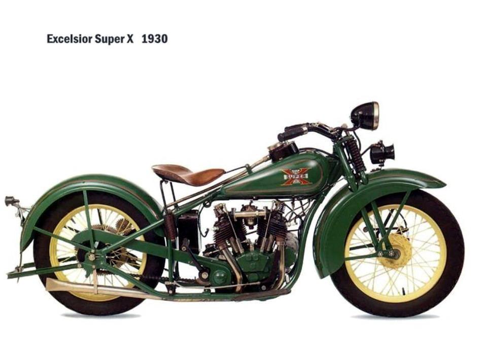 Historia y evolución de la motocileta 1930-2