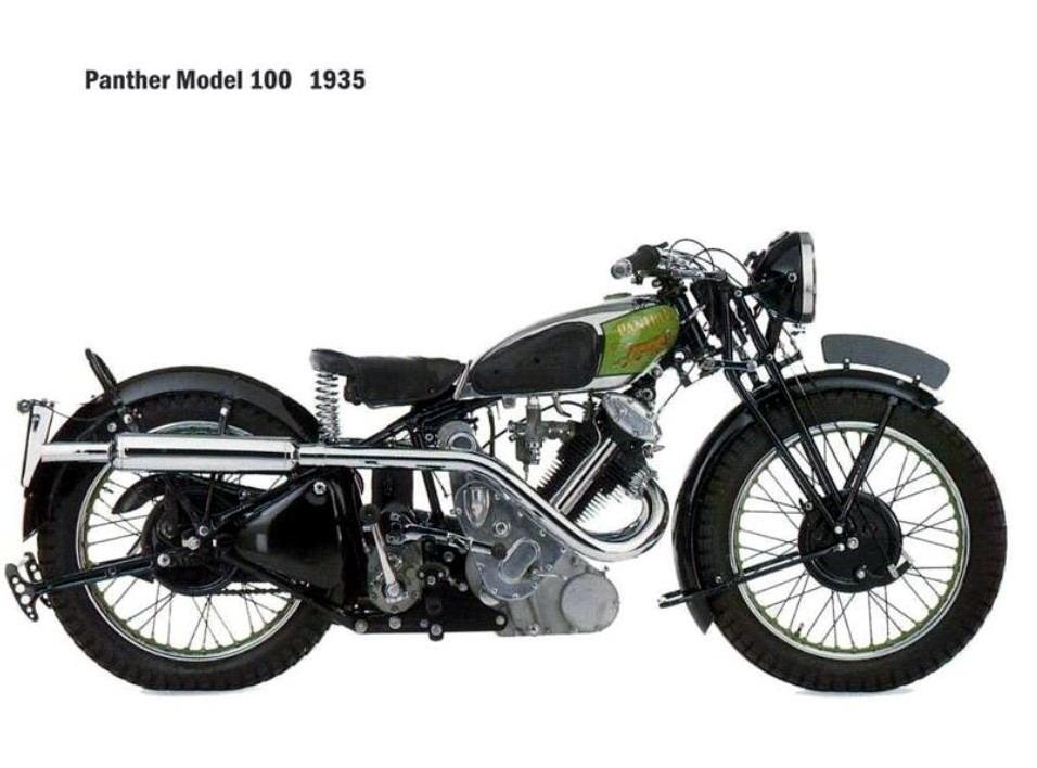 Historia y evolución de la motocileta 1935
