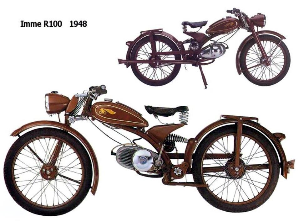 Historia y evolución de la motocileta 1948