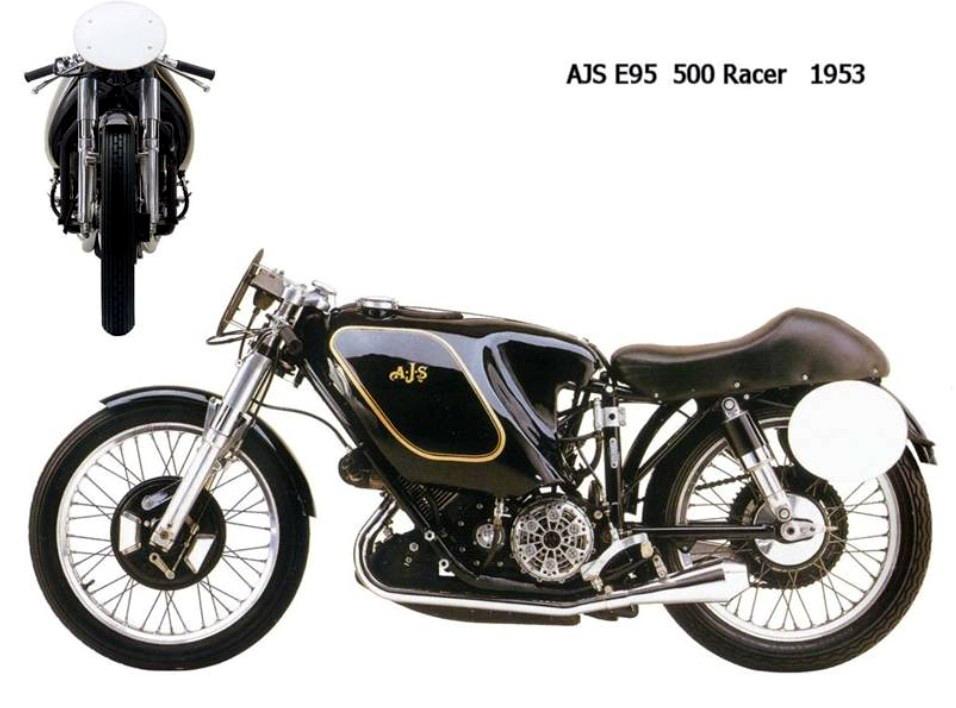 Historia y evolución de la motocileta 1953