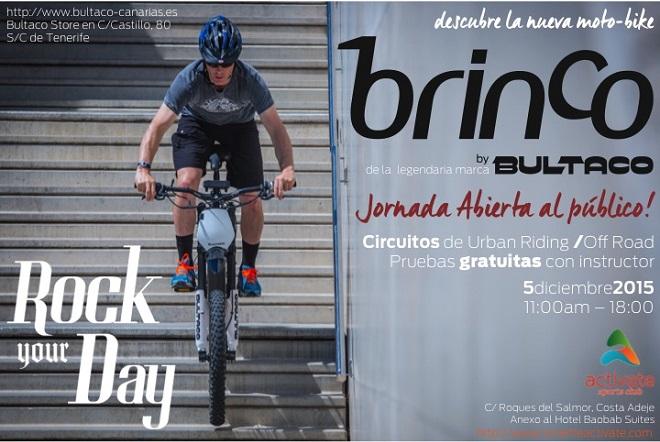7683405ad Aún no conoces la Brinco? Ven a probarla al Bultaco Day en Tenerife ...