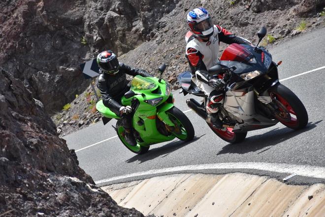 Montar en moto adelgaza, rejuvenece y te hace ser más feliz