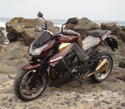 Prueba Kawasaki Z1000 No Te Conformes Con Menos Canariasenmotocom