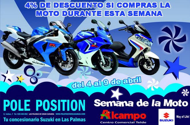 Semana de la moto pole position en alcampo telde - Carpas alcampo ...